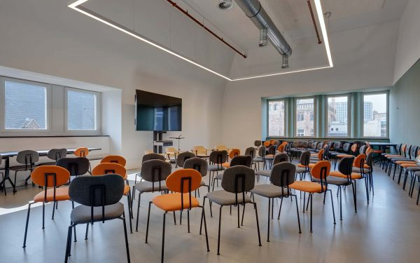 Entree Collegezaal